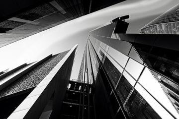 schwarz-weiß Fotografie Architektur