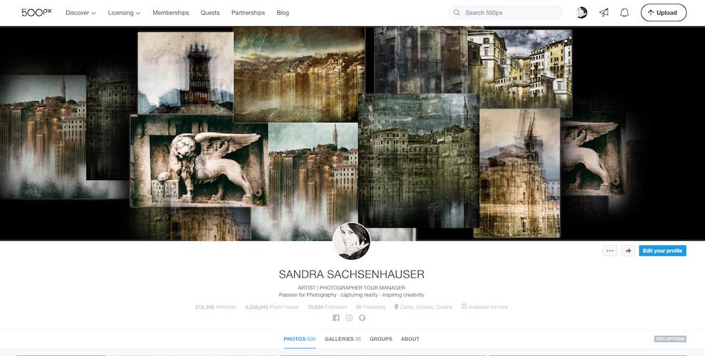 Sandra Sachsenhauser Art bei 500px