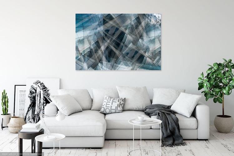 Abstrakte Kunst für deine Wand von Sandra Sachsenhauser