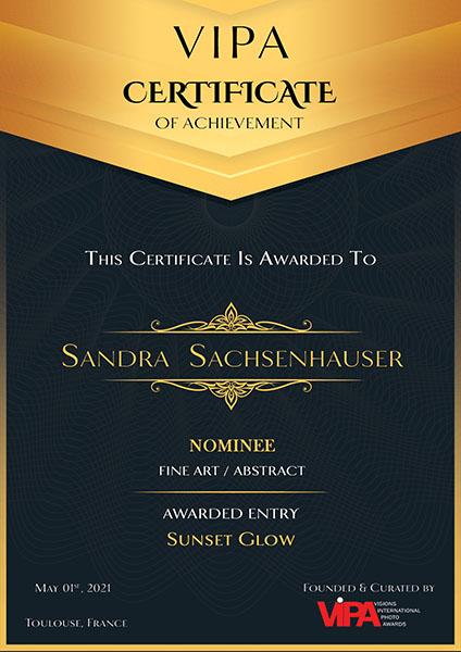 Nominee VIPA 2021 Sandra Sachsenhauser
